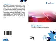 Buchcover von Roger Rowley