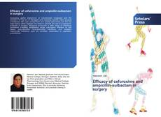 Bookcover of Efficacy of cefuroxime and ampicillin-sulbactam in surgery
