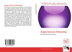 Portada del libro de Anglo-German Fellowship