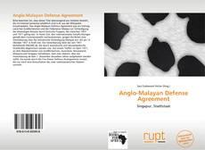 Buchcover von Anglo-Malayan Defense Agreement