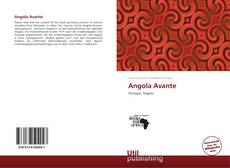 Capa do livro de Angola Avante