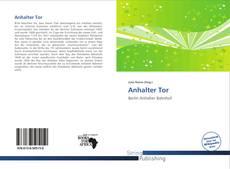 Capa do livro de Anhalter Tor