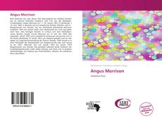 Bookcover of Angus Morrison