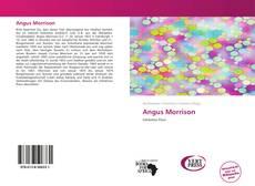 Copertina di Angus Morrison