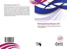 Bookcover of Pennsylvania Route 217