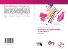 National Champions High Jump (men) kitap kapağı