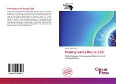 Bookcover of Pennsylvania Route 208