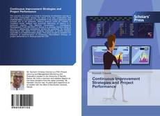 Bookcover of Continuous Improvement Strategies and Project Performance