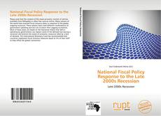 Обложка National Fiscal Policy Response to the Late 2000s Recession