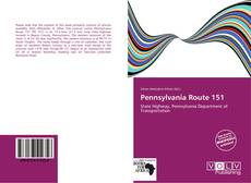 Bookcover of Pennsylvania Route 151