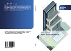 Capa do livro de AutoCAD 2009 manual