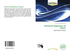 Bookcover of National Highways of Japan