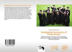 Portada del libro de Bangladesh University of Professionals