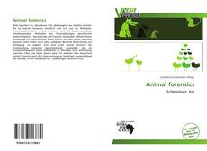 Bookcover of Animal forensics