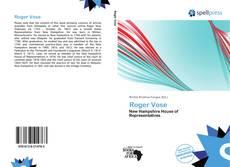Roger Vose kitap kapağı
