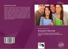 Bookcover of Kenyatta University