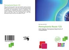 Bookcover of Pennsylvania Route 125