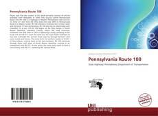 Pennsylvania Route 108的封面