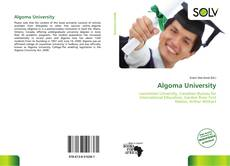 Portada del libro de Algoma University