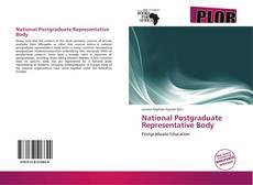 Bookcover of National Postgraduate Representative Body