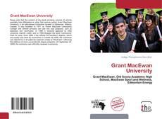 Обложка Grant MacEwan University
