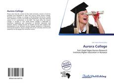 Bookcover of Aurora College