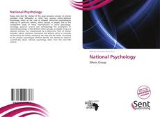 Bookcover of National Psychology
