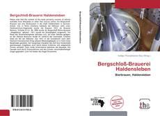 Bookcover of Bergschloß-Brauerei Haldensleben