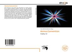 Capa do livro de Anime-Convention