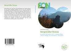 Copertina di Bergsträßer Rezess