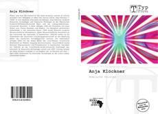 Bookcover of Anja Klöckner