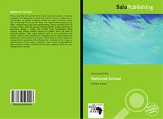 Bookcover of National School