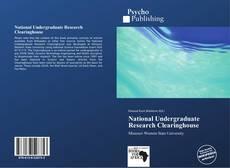 Buchcover von National Undergraduate Research Clearinghouse