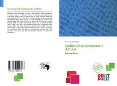 Bookcover of Nationalist Democratic Action