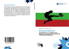 Bookcover of Bergvall-System