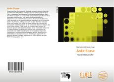 Bookcover of Anke Bosse