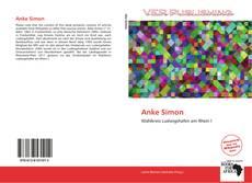 Buchcover von Anke Simon