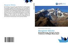 Capa do livro de Bergüner Stöcke
