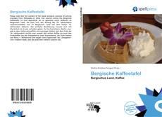 Buchcover von Bergische Kaffeetafel