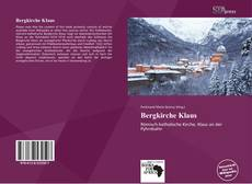 Bergkirche Klaus kitap kapağı