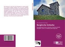 Bergkirche Schierke kitap kapağı
