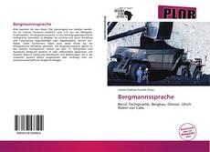 Bergmannssprache kitap kapağı