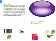 Bookcover of Anke Erdmann