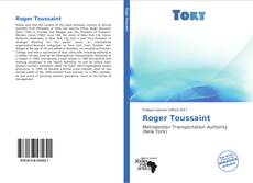 Bookcover of Roger Toussaint