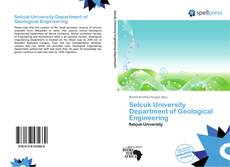 Selcuk University Department of Geological Engineering的封面