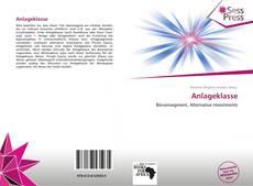 Buchcover von Anlageklasse