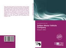 Capa do livro de Selden Motor Vehicle Company