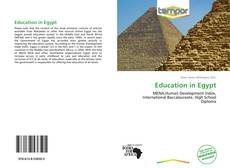 Обложка Education in Egypt