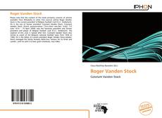 Bookcover of Roger Vanden Stock