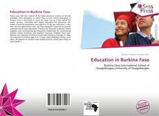 Borítókép a  Education in Burkina Faso - hoz